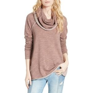 NWT Free People Beach Funnel Neck Pullover XS/S